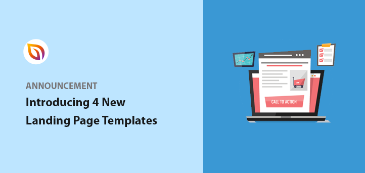 Introducing: 4 New SeedProd Landing Page Templates