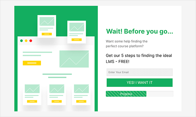 Add progress bars to your landing page form to improve form completion