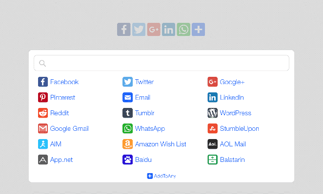 AddToAny Share Buttons for WordPress