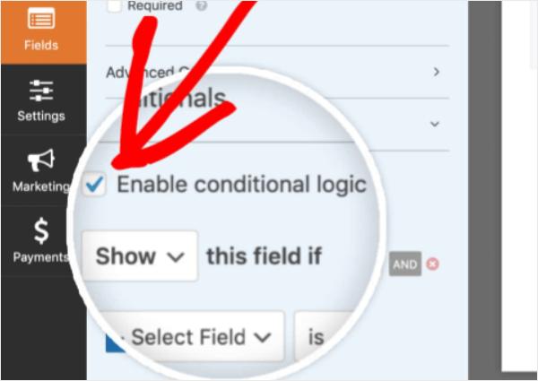 conditional logic wpforms review