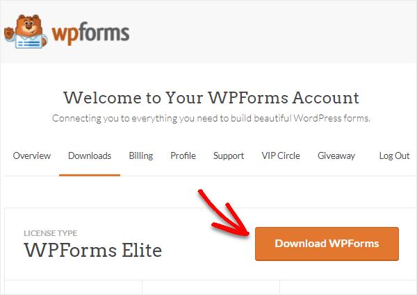 redownload your wpforms plugin