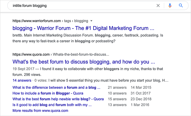 Promote your blog in web forums