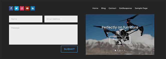 Preview your custom sitewide WordPress footer