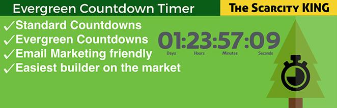 evergreen countdown timer plugin WordPress