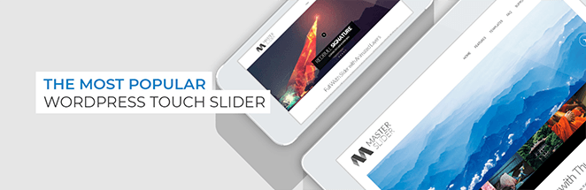 Master Slider free WordPress image slider plugin