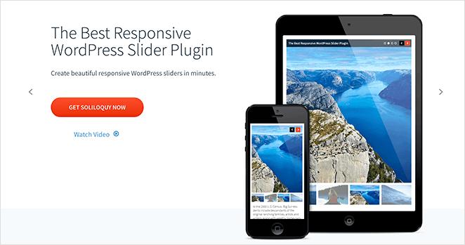Soliloquy responsive WordPress image slider plugin
