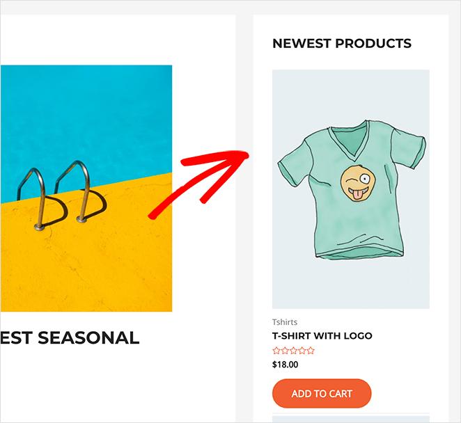 WooCommerce new products sidebar widget