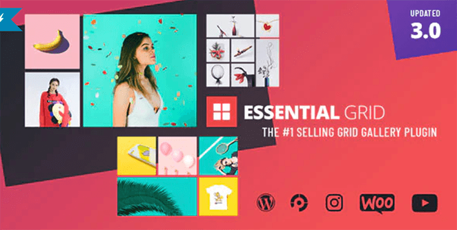 Essential Grid WooCommerce grid plugin