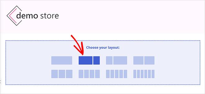 choose a new column layout