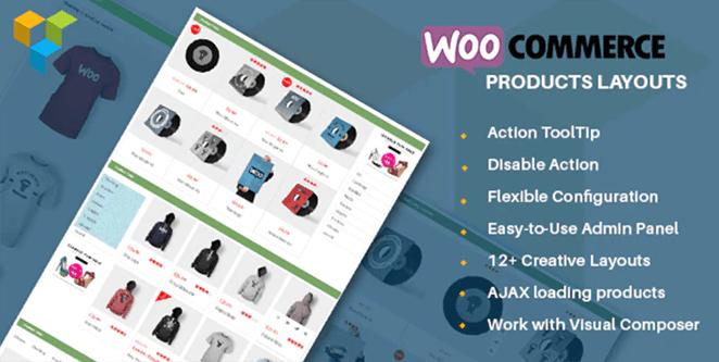 WooCommerce product layouts: WooCommerce grid plugins