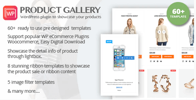 WP Product Gallery: WooCommerce Grid Plugin