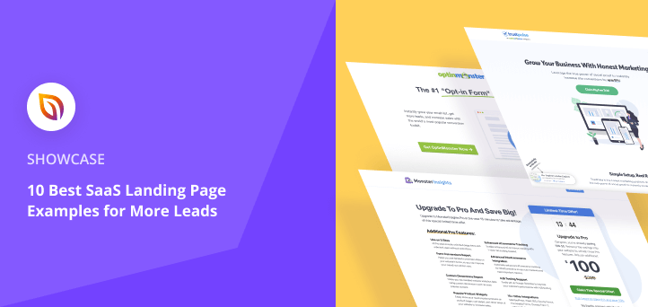 10 Best SaaS Landing Page Examples for More Leads
