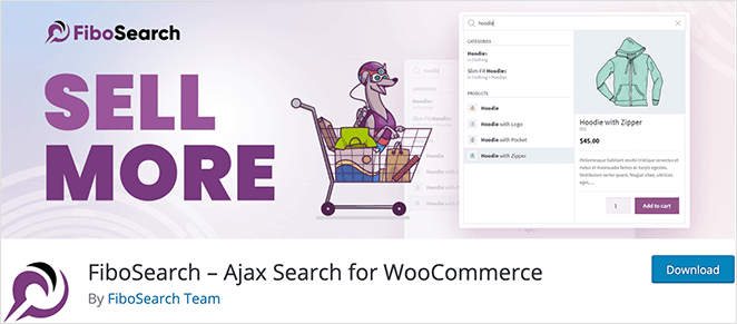 FiboSearch Ajax search for WooCommerce