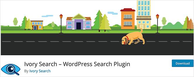Ivory Search free WordPress search plugin