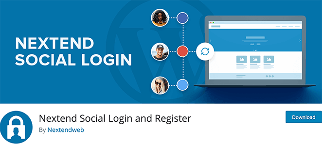 Nextend social login WordPress login plugin