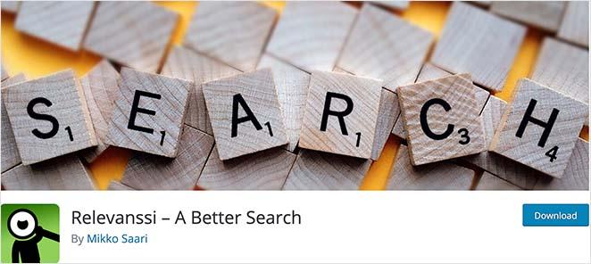 Relevanssi free WordPress search plugin